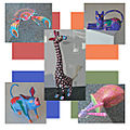 mailart mailartfph mymailartfph animals crittersfph colorful