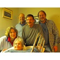 My mother with four of her five children (Ginny, Larry, Patrick & Maurie--aka ashdad) on Christma...