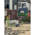 derelict abandoned property colourful rubbish graffiti dumped ftcomplong