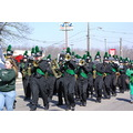 Marching band in st pats parade
