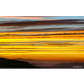 sunset clouds striated Hemet valley California Pankey Wildspirit