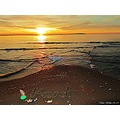 sunset Angelholm Sweden Skane October 2010 beach sea colorful Kent