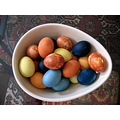 Easter Eggs Natural Dyes Red Cabbage Onion Skin Turmeric