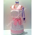 dress diaper cake cakes new baby girl gifts shower gift ideas