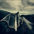 surreal dream dark landscape voltrik mask theatre dingle ireland chess keit