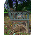 worcester england bench iron