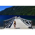 lake crescent jetty