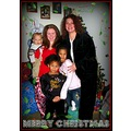 Family christams holiday baby children