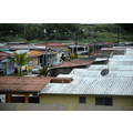 zuiderdam cruise colon panama houses community walls view
