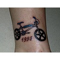 tattoo bmx bike bicycle