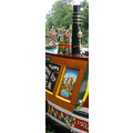 chimmney castle narrowboat canal boat river brass