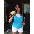 Geeting drunk in the morning. Yulka, Veronika&Kat'ka must remember that day and the day before. W...