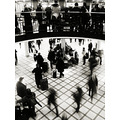 Stockholm Central Station through my old camera.  Another edition. Same wating, same trip..sam...