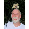 One of the DConways Dave and friend monkey