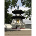 the peace pagoda battersea park london