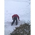 At 5:11pm-Omer shoveling earlier at front driveway. By Lisa Gallant On Friday,Feb.8,2013
