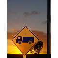 road sign morning again saturday sunrise perth littleollie