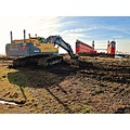 Floating Drydock 2012 March Lundakrabukten Digging Landskrona Flytdockan