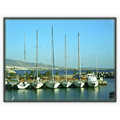 greece athens faliro boats sailing sky blue summer vacations harbor