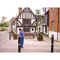 Historic building in Stratford-upon-Avon, England.
