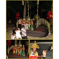 traditional dancers young ladies hotel complex bali littleollie