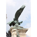 statue eagle brass column
