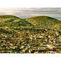 landscape urban hills pachuca mexico overcrowding architecture city