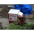 mini cargo carrier street photography mumbai india