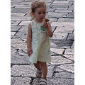 little girl ice cream square lecce