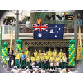 ceremony flag bird Commonwealth Games india perth littleollie