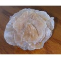 crystal rose flower gypsum mineral
