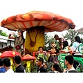 GMA7 Kapuso dwarfina parade ylleah jjean rosado mask bayawan city