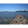 summer bay view sanfrancisco bridge walkway stone stones oakportfph