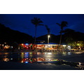 night reflection koh chang beach thailand asia kolanta