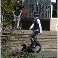 bike boy unicycle dunedin littleollie