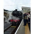 This is the steam train that runs from Pickering to Whitby. It was a very pleasant journey.