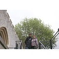 Jan and her boy at the Tower of London