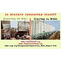 the WALL 1989 Palestine Israel Zionism Murde Berlin double standards Is