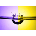 yellow purple violet gold H2O drop drops drip splash moisture hydro natur