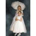 communion kids girls white umbrella jaro