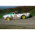 Lancia Rally Car Kerry Ballymac Kerry Stages Rally Ireland Peter OSullivan