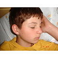my brother sleeping