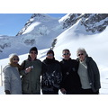 the gang at jungfrau Swiss Alps