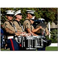 Marines band drums