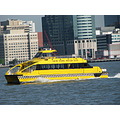newyorkcity downtown manhattan boat taxi river