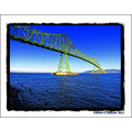 Astoria Bridge Oregon Columbas River USA