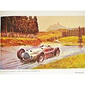 Peter Helck Nurburgring 1938 MB Rainmaster Painting