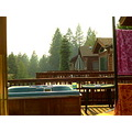here at a chalet with hot tub and smoke lake almanor