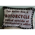 motorcycle cushion psychiatrist