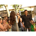 Mario Lopez - Extra Extra TV show Shooting Live on the Groove 